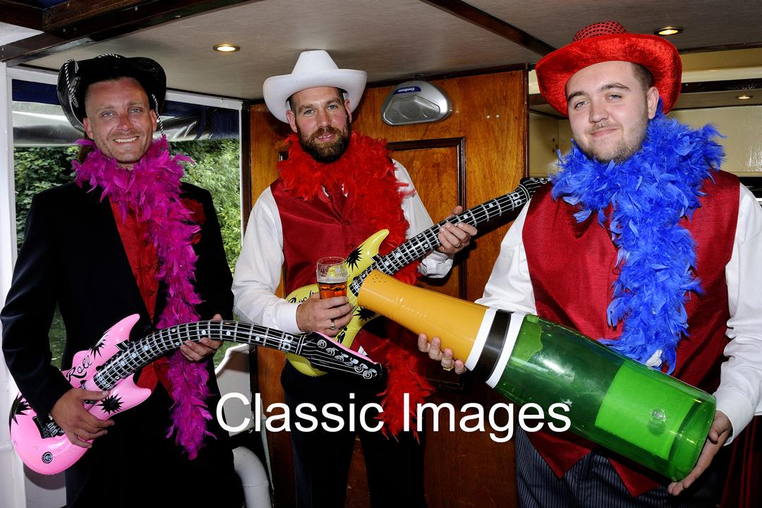 fun-dress-up-wedding-photos-boat-windsor-berkshire