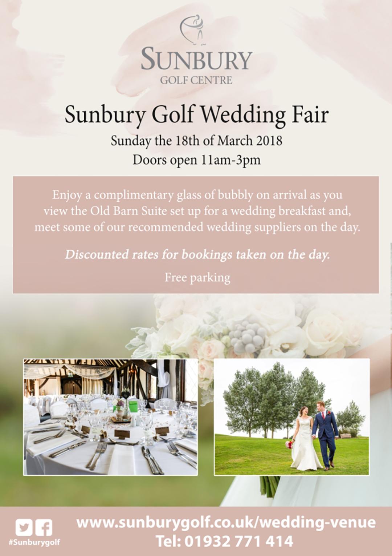 Sunbury wedding fair 18th Mar 2018 v2