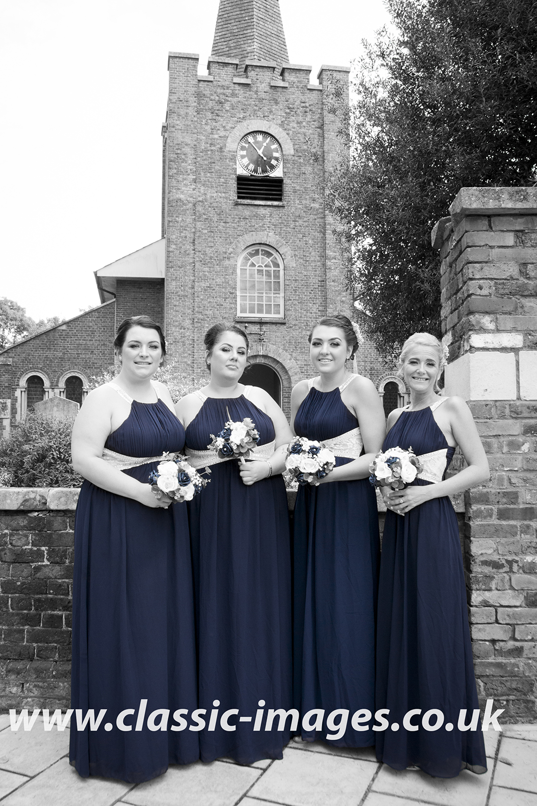 ceremony-bridemaids-wedding-photo-sunbury